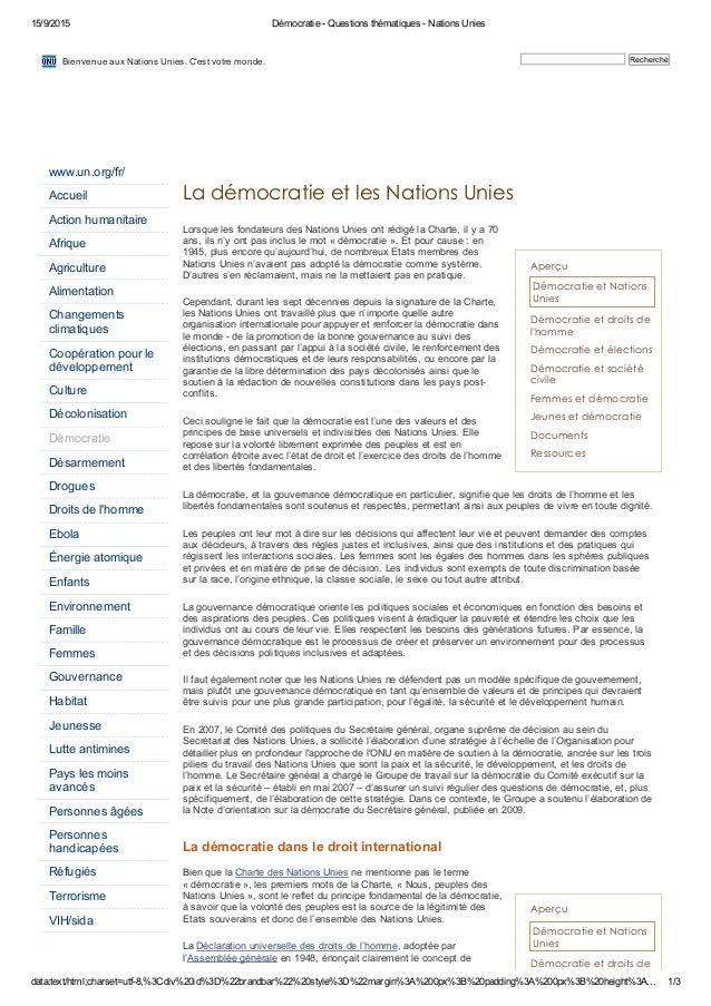 15/9/2015 DémocratieQuestionsthématiquesNationsUnies data:text/html;charset=utf8,%3Cdiv%20id%3D%22brandbar%22%20s...