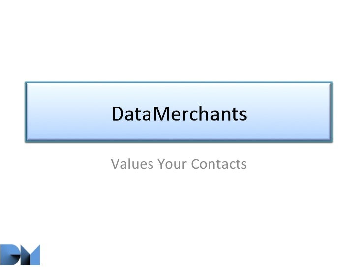 Values Your Contacts