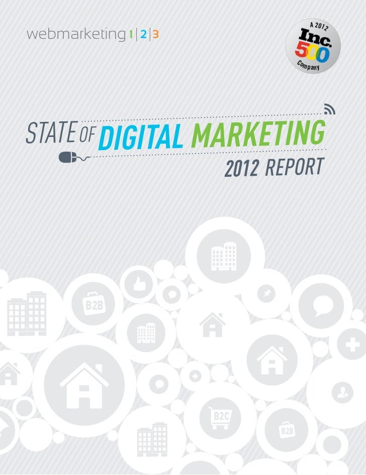 State of Digital Marketing Report : B2b vs B2c