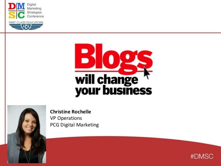 Christine RochelleVP OperationsPCG Digital Marketing