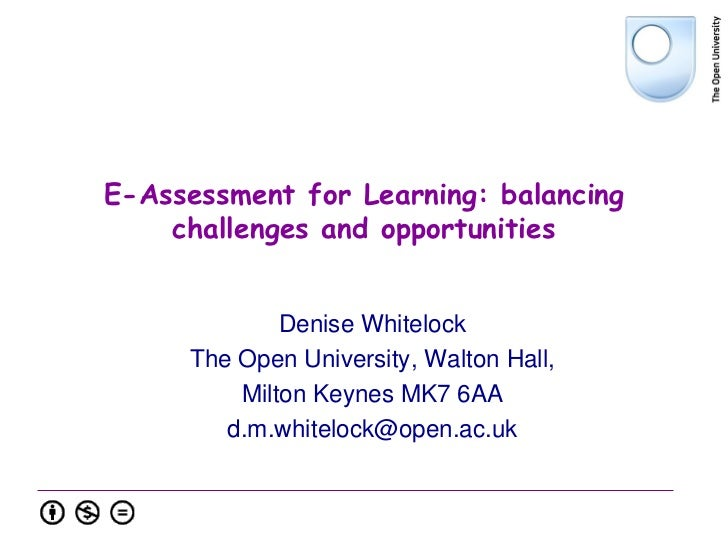 TAO DAYS - E-Assessment for Learning