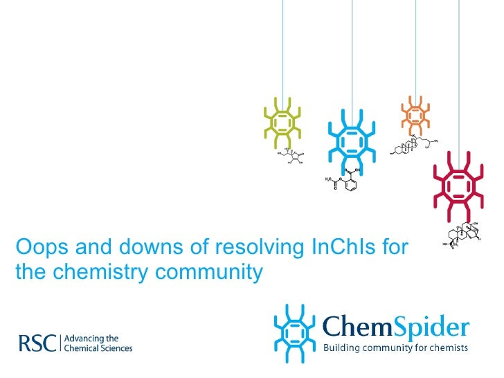 Oops and Downs of Resolving InChIs For the Chemistry Community