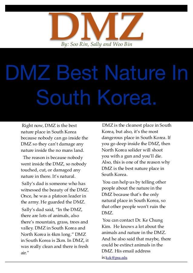 Dmz news article(1)