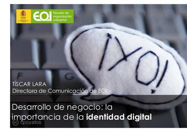 Desarrollo de Negocio: identidad digital