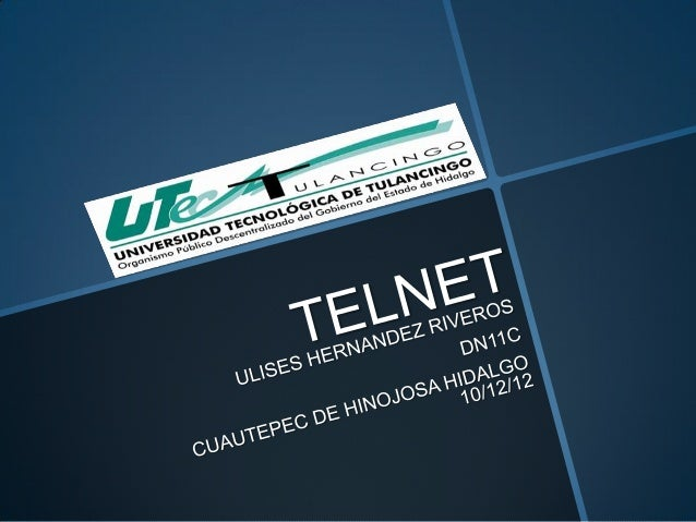 Telnet (TELecommunicationNETwork)