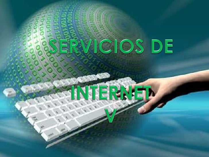 SERVICIOS DE INTERNET V<br />