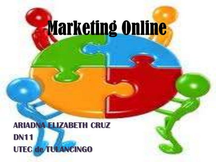 Mercadotecnia en Internet