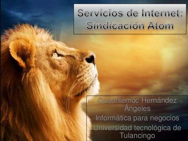 Cuauhtémoc Hernández         ÁngelesInformática para negociosUniversidad tecnológica de        Tulancingo