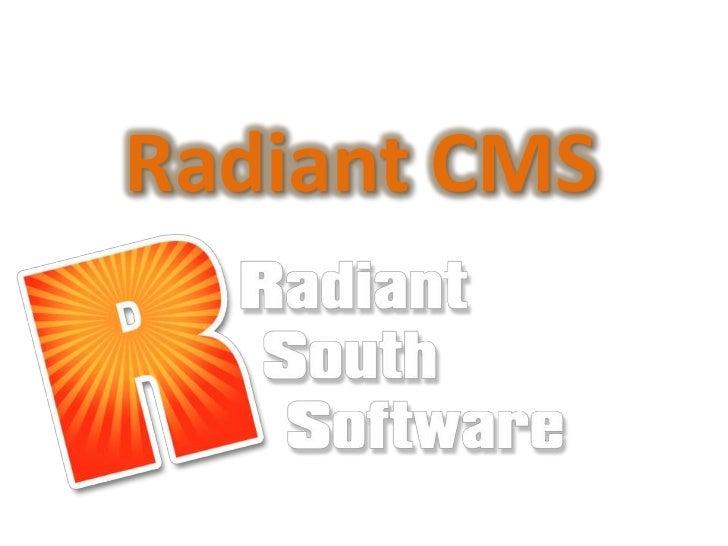 Radiant CMS