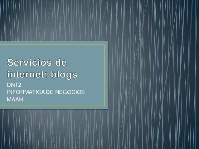 DN12INFORMATICA DE NEGOCIOSMAAH