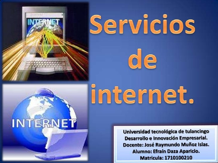 servicios de internet ll