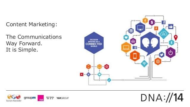 DNA 2014 Content Marketing vs Advertising Marketing by Margaret Key (Burson-Marsteller)