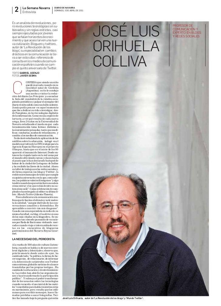 2       La Semana Navarra          Entrevista                                          DIARIO DE NAVARRA                  ...