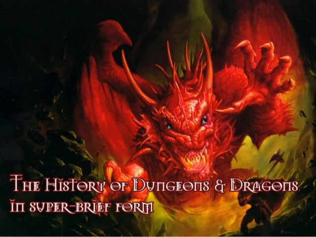 IMS 211: a History of Dungeons & Dragons