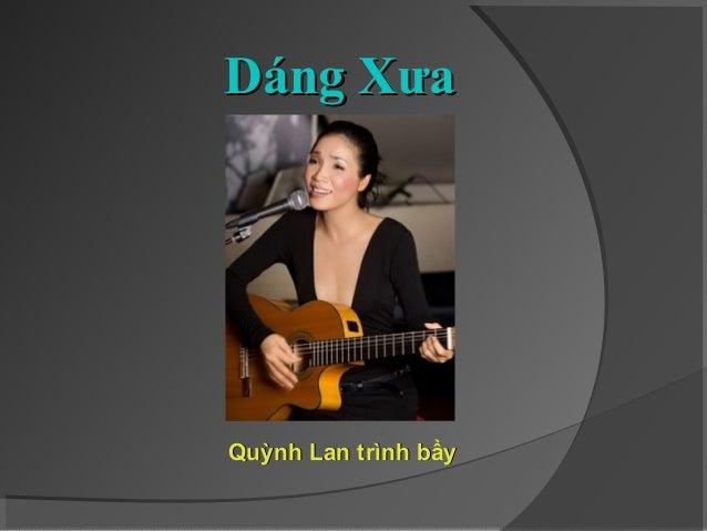 Dáng Xưa - Quỳnh Lan