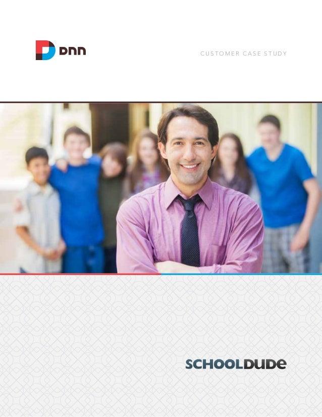 Evoq Social Case Study: SchoolDude