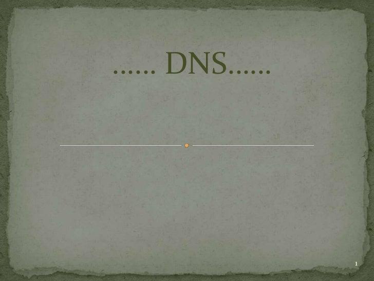 …… DNS……           1
