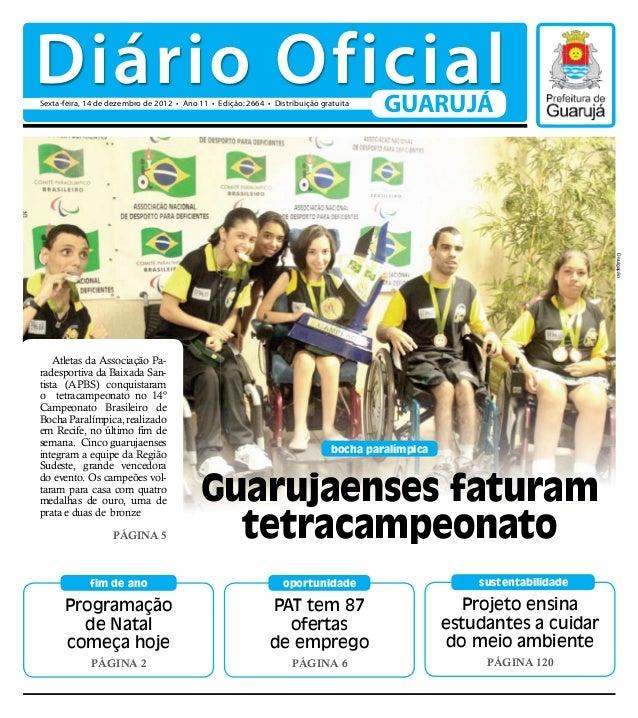 Diário Oficial                                      GUARUJÁ                                                               ...