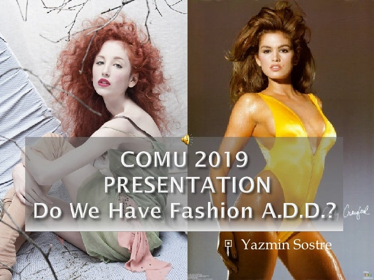 Do We Have Fashion Add Presentation