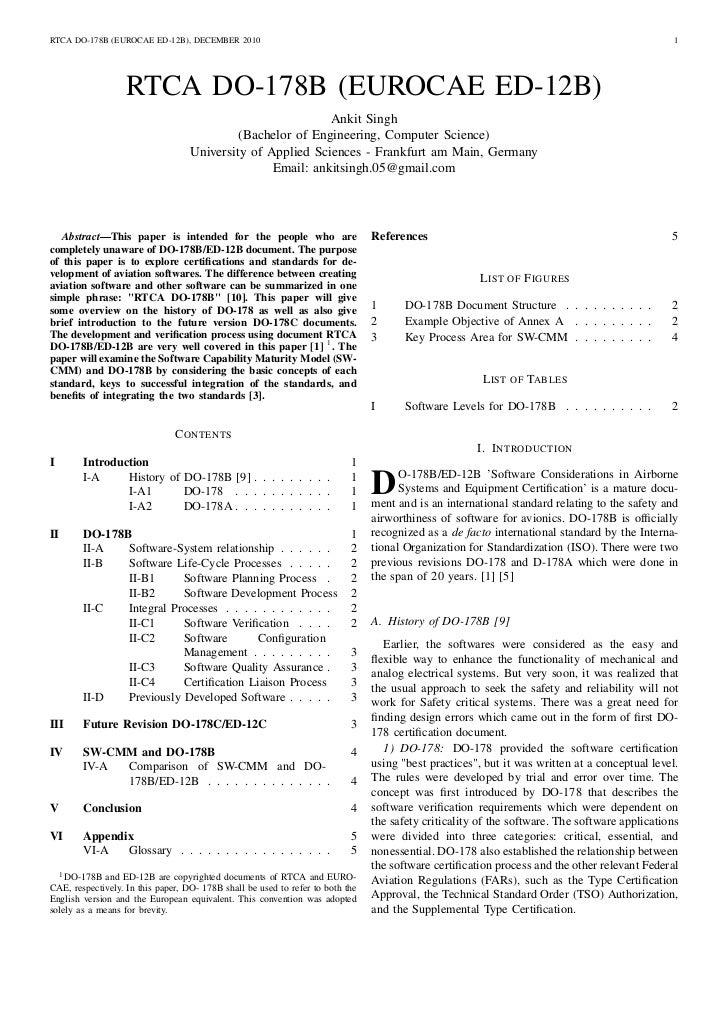 DO 178B/ED 12B Paper