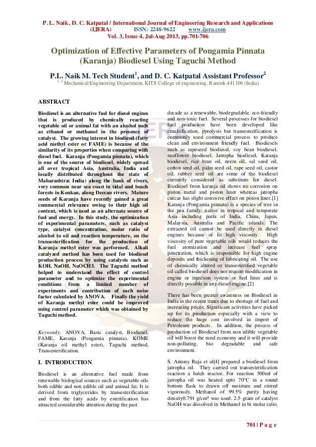 P. L. Naik , D. C. Katpatal / International Journal of Engineering Research and Applications (IJERA) ISSN: 2248-9622 www.i...