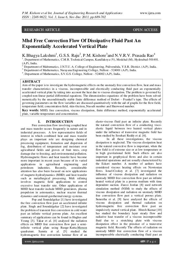 P.M. Kishore et al Int. Journal of Engineering Research and Applications ISSN : 2248-9622, Vol. 3, Issue 6, Nov-Dec 2013, ...