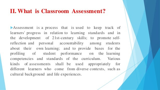 Essay on: The teacher's role in assessment?
