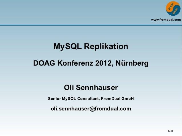 MySQL Replication for Beginners