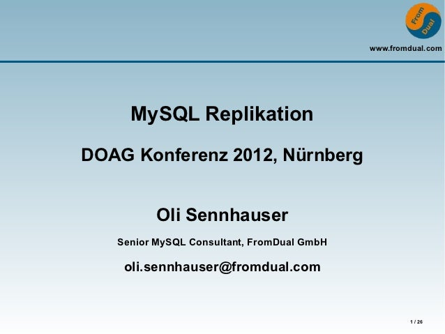 MySQL Replication for Beginners