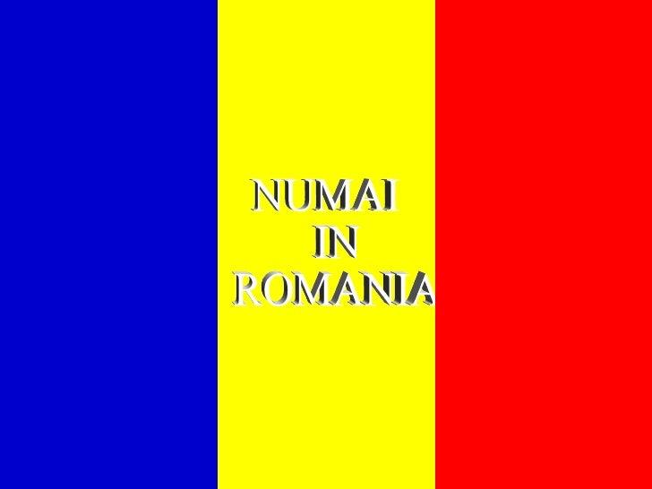 Doar In Romania