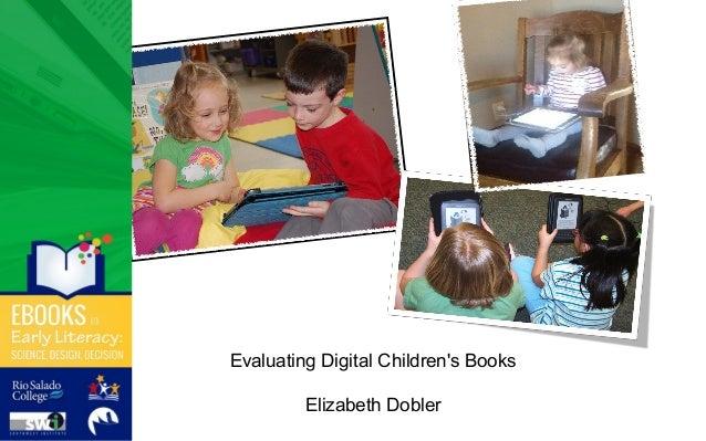 Evaluating Digital Children's Books