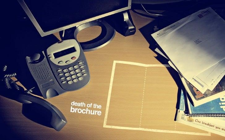 $3 per copy     Why do brochures exist?