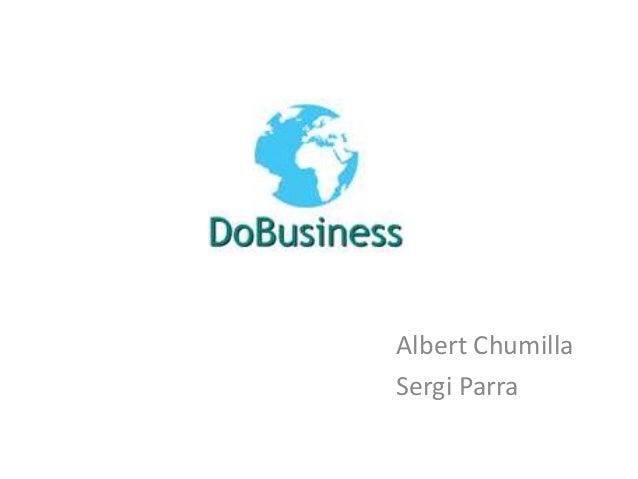 Business Plan DoBusiness