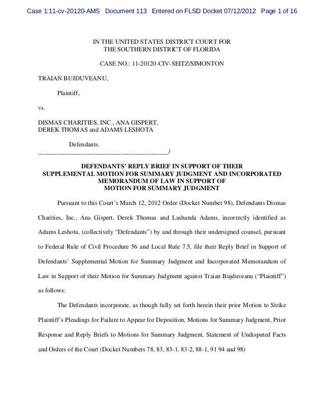 Case 1:11-cv-20120-AMS Document 113 Entered on FLSD Docket 07/12/2012 Page 1 of 16                        IN THE UNITED ST...