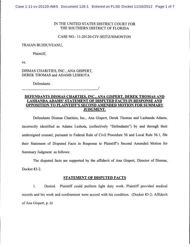 Case 1:11-cv-20120-AMS Document 126-1 Entered on FLSD Docket 11/16/2012 Page 1 of 7                           IN THE UNITE...