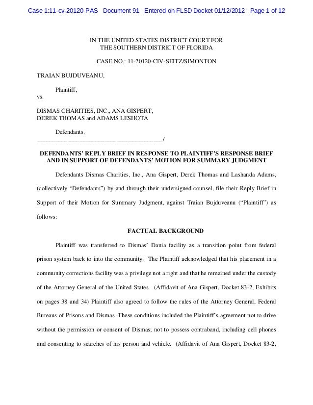Case 1:11-cv-20120-PAS Document 91 Entered on FLSD Docket 01/12/2012 Page 1 of 12                       IN THE UNITED STAT...