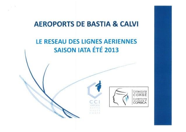 Saison IATA ETE 2013