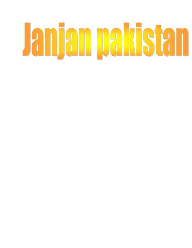 JAN JAN PAKISTAN
