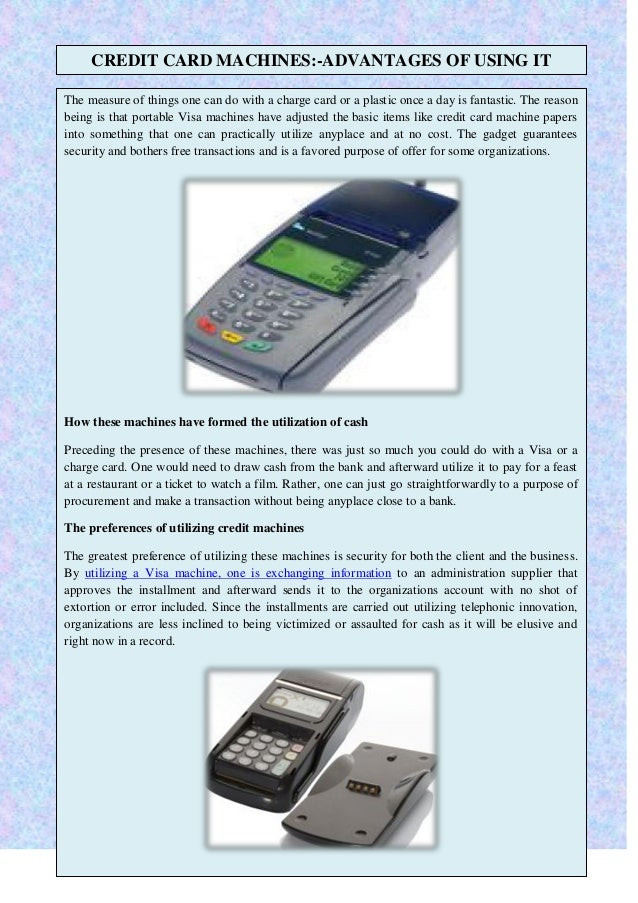 discount credit card machine
