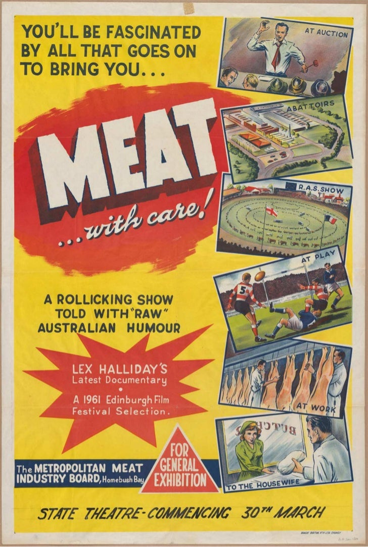 'Meat with care'