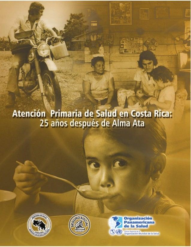 Atención Primaria en Salud en Costa Rica