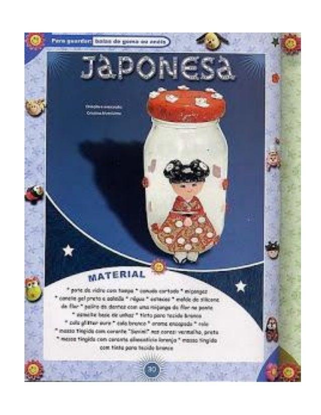 JAPONESA EN FRASCO DE VIDRIO