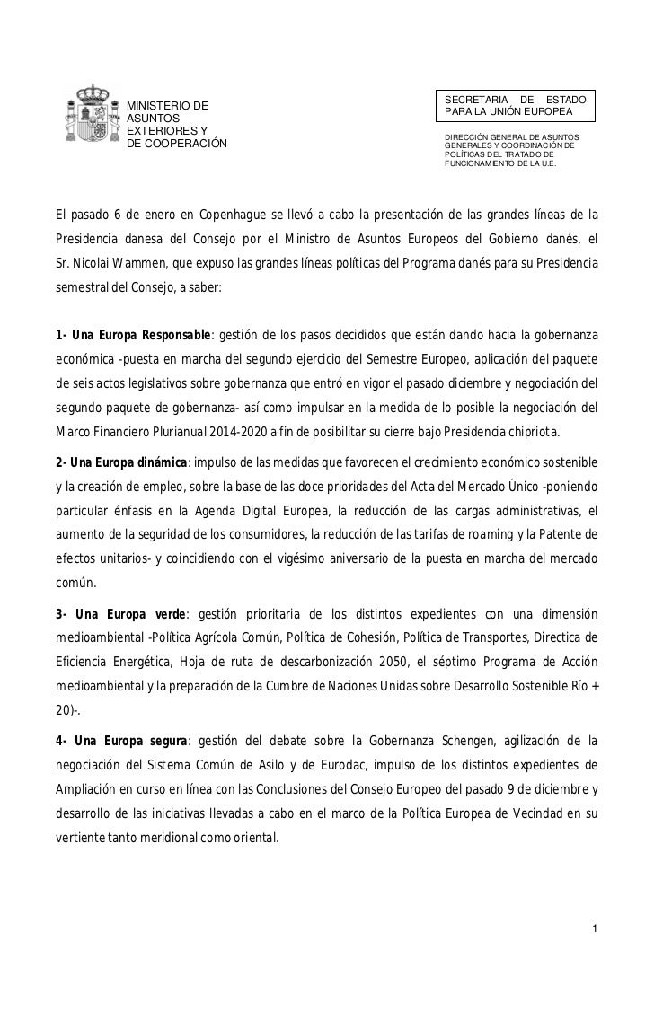 SECRETARIA DE ESTADO             MINISTERIO DE                                                                          PA...
