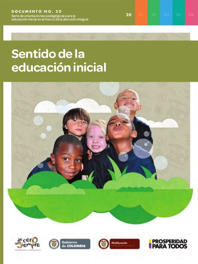 Resultado de imagen para SENTIDO DE LA EDUCACION INICIAL