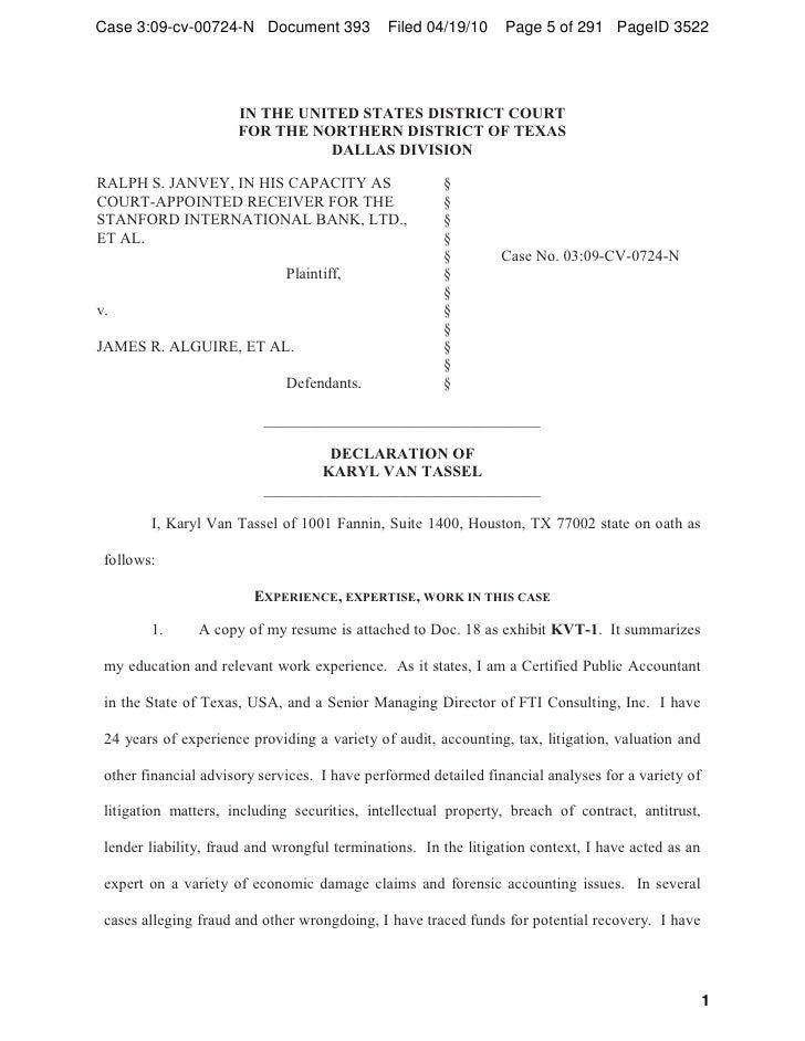 bank examiner resume texas