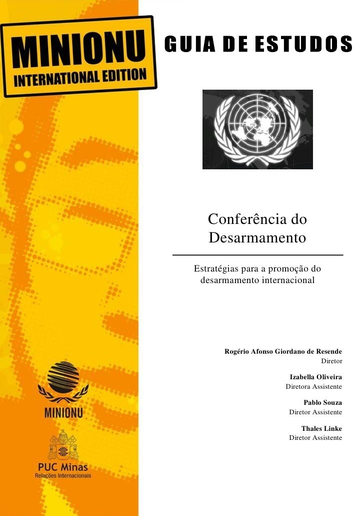 CD - CONFERENCIA DO DESARMAMENTO