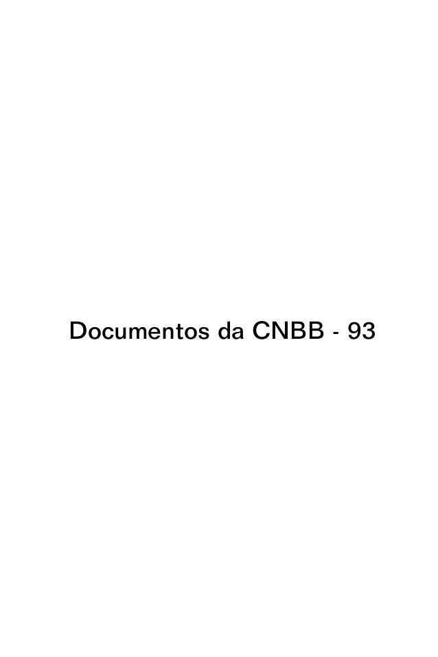 Documentos da CNBB - 93