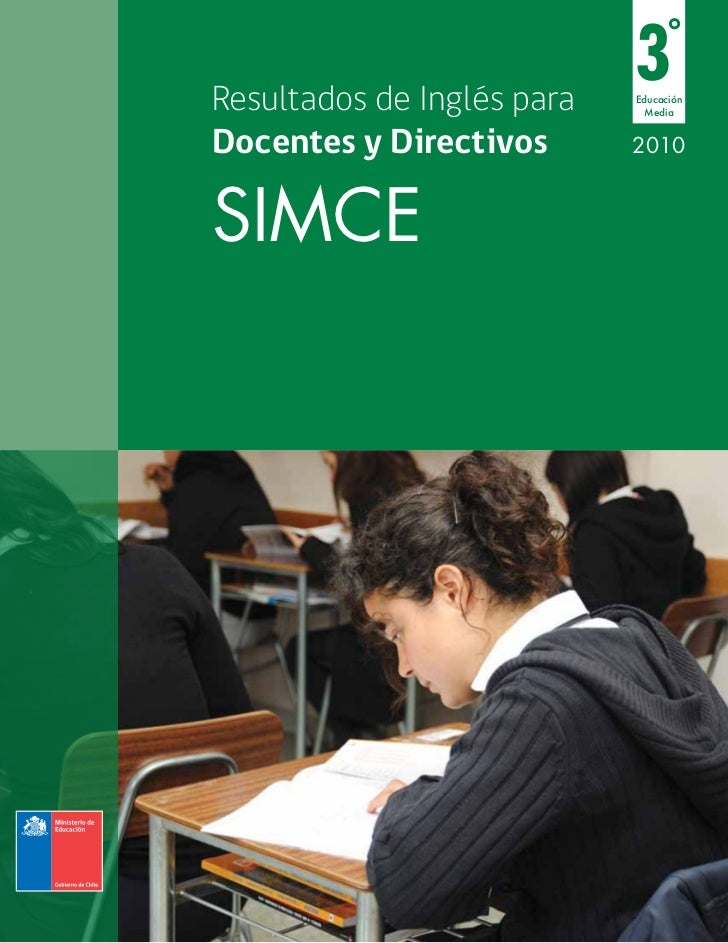 SIMCE INGLES