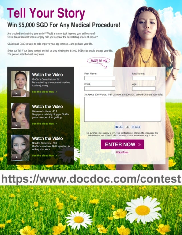 """DocDoc """"Tell Your Story"""" Contest"""