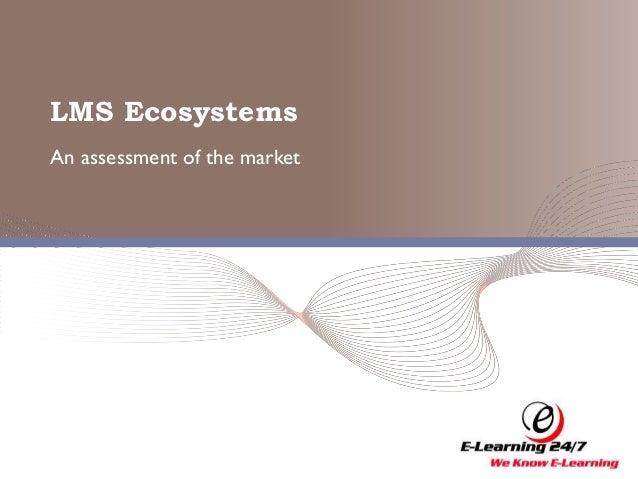 LMS Ecosystems